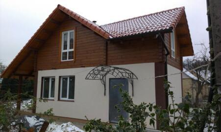 Строительство экологичных домов, дом из натуральных материалов, проектирование и строительство дома Киев, дома с мансардой киев