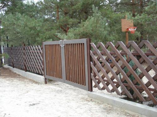 Деревянные заборы Киевская область, ворота Киев, красивые заборы,