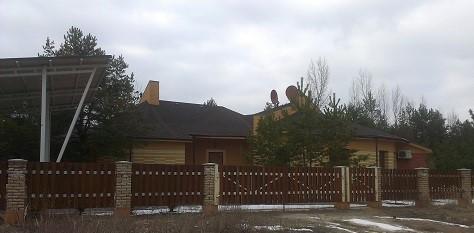 Заборы из дерева, оригинальные проекты домов Киев, строительство оригинальных домов,