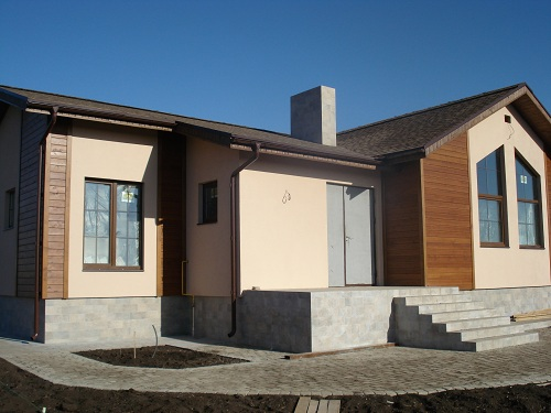 Каркасный дом без OSB, каркасный дом с натуральной черепицей Киев, какой дом экономнее?,