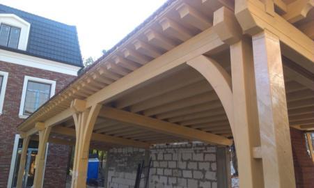 деревянные навесы из клееных конструкций Киевская область,