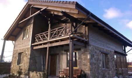 Дом в стиле шале, строительство каркасных домов в стиле шале Киев, дом из натуральных материалов,Деревянный дом Киев,Какой дом лучше построить?,